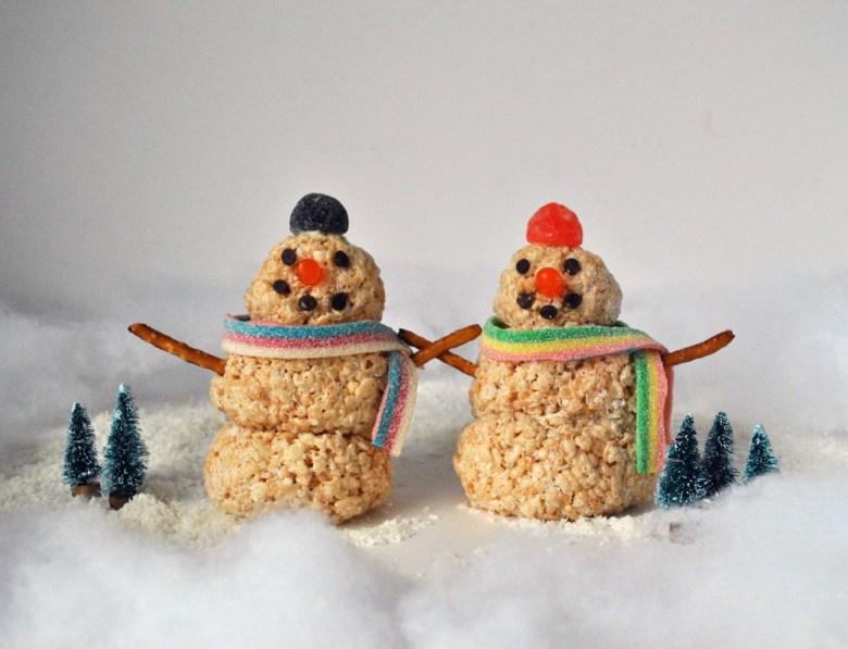 snowmen couple