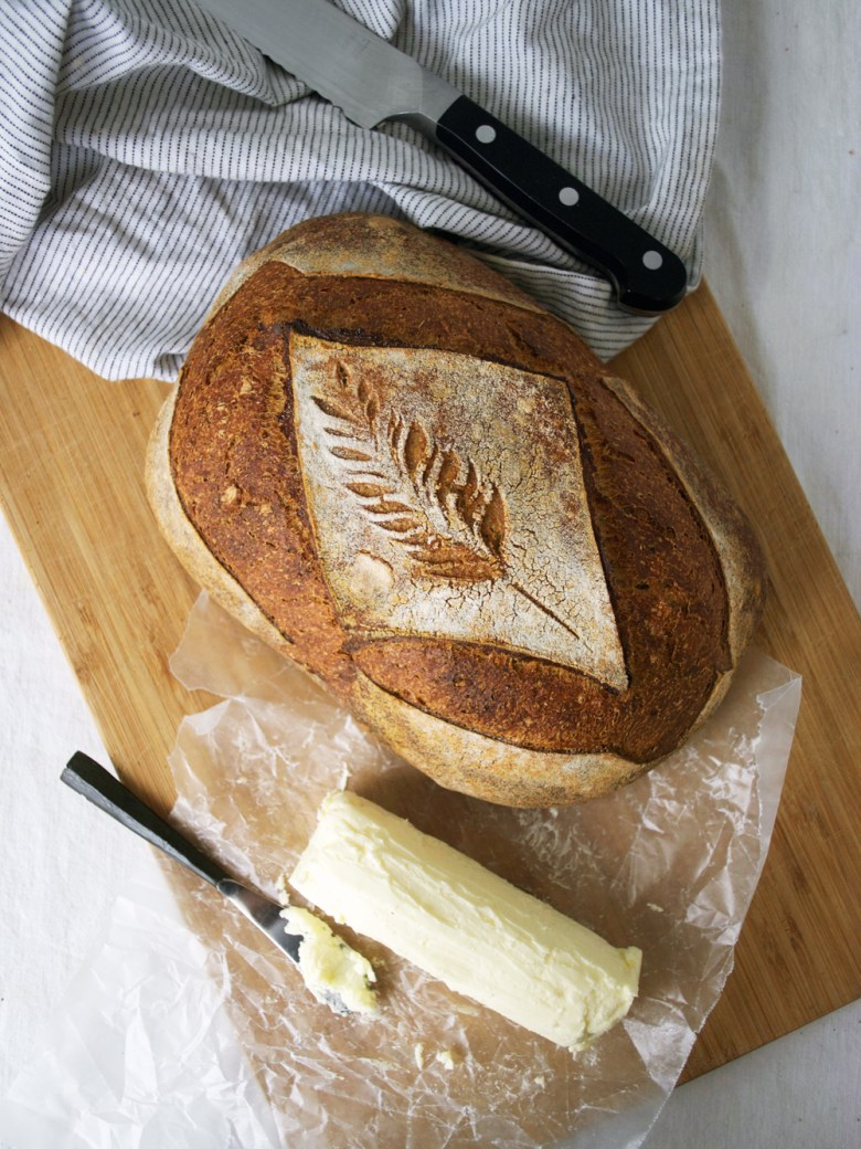 bread and cultured butter