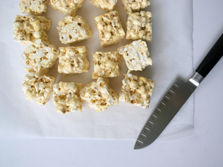 brown butter marshmallow popcorn