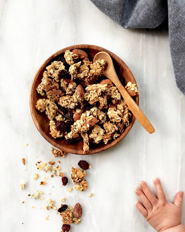 sourdough granola