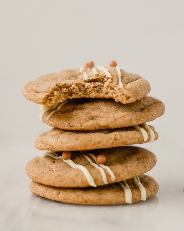 gingerbread latte snickerdoodle stack