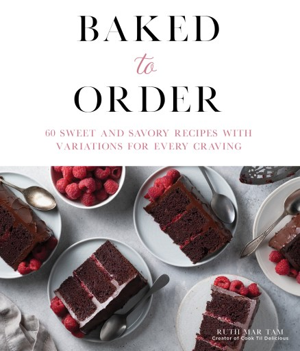 baked to order cookbook cover