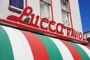 Lucca Sign Closeup