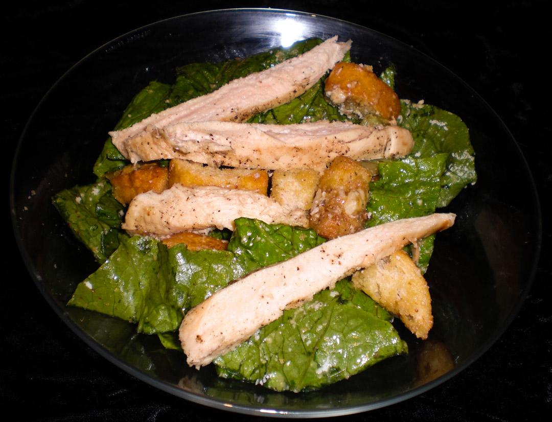 All hail Caesar Salad!