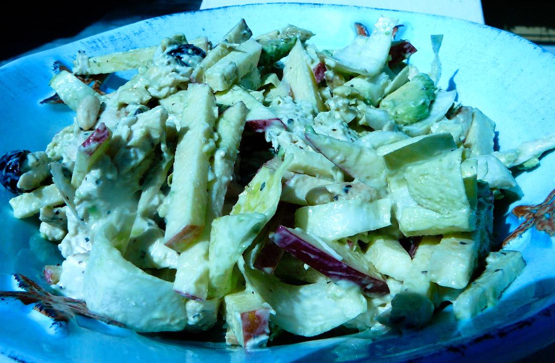 chicken-salad-served