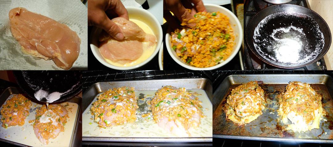 fried-chicken-dip-butter-bake