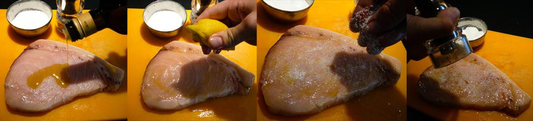 grilled swordfish marinate
