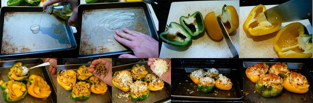 stuffed peppers stuff bake