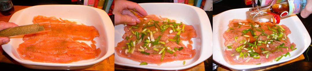 maple salmon marinate
