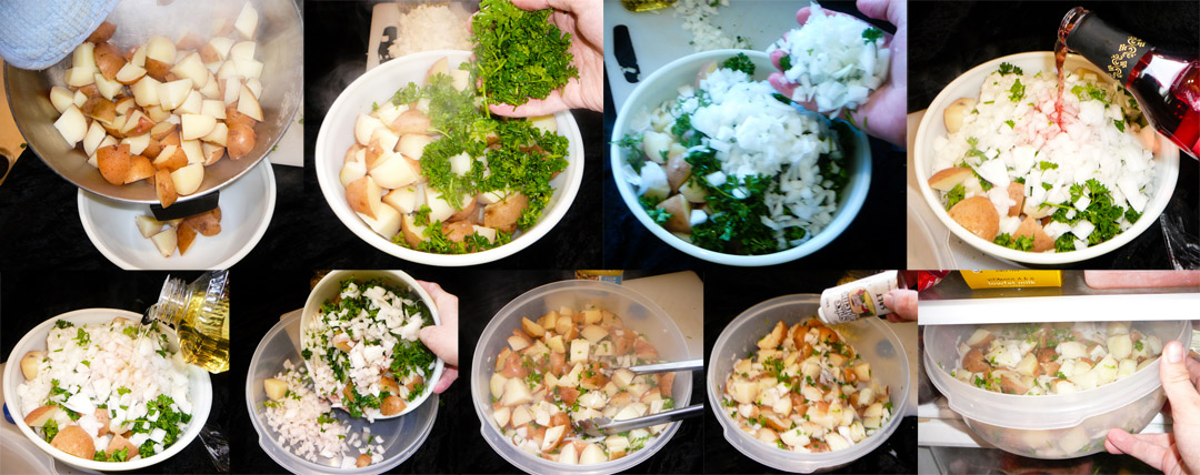 moroccan potato salad toss