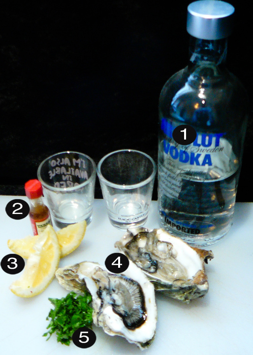 oyster shooters prep
