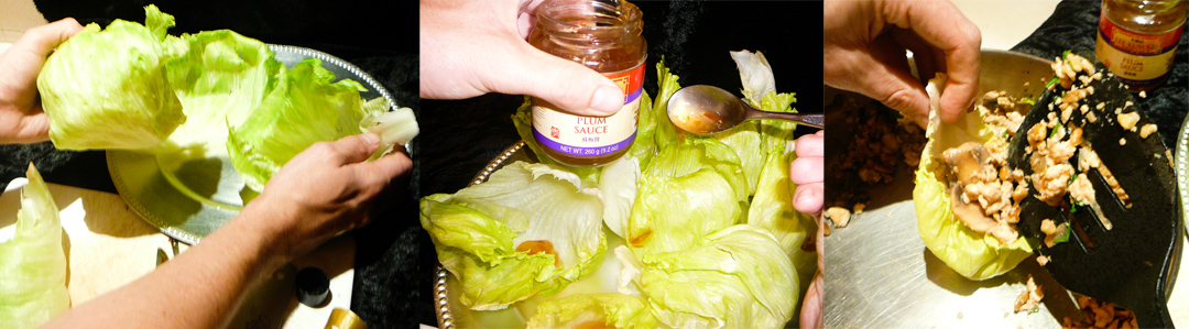 chicken lettuce d-cups fill