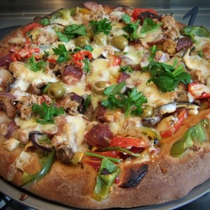 Spelt Pizza dough