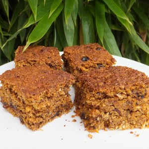 Carrot and oat cake