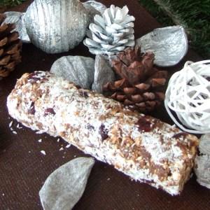 Christmas Biscuit salami