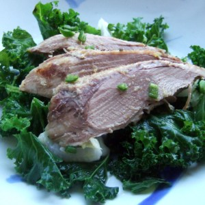 Asian-style duck breast