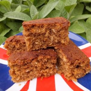 Oaty ginger cake