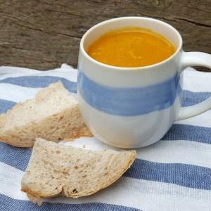 Spiced Sweet Potato & Squash Soup