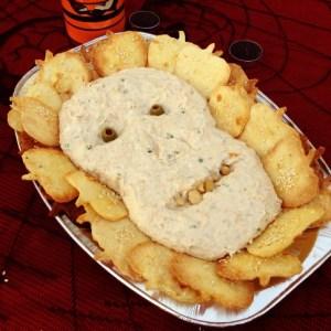 Halloween tortilla chips
