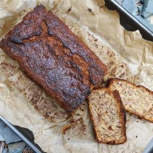 Dairy-free oaty banana bread