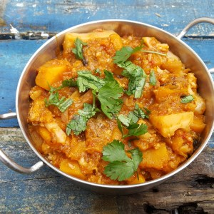 Squash and Cauliflower Curry