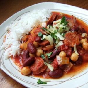 Cajun Chorizo chilli