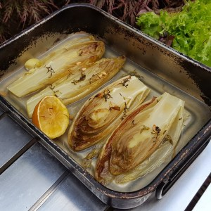 Oven-Braised chicory