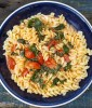Tomato, Mascarpone and spinach pasta