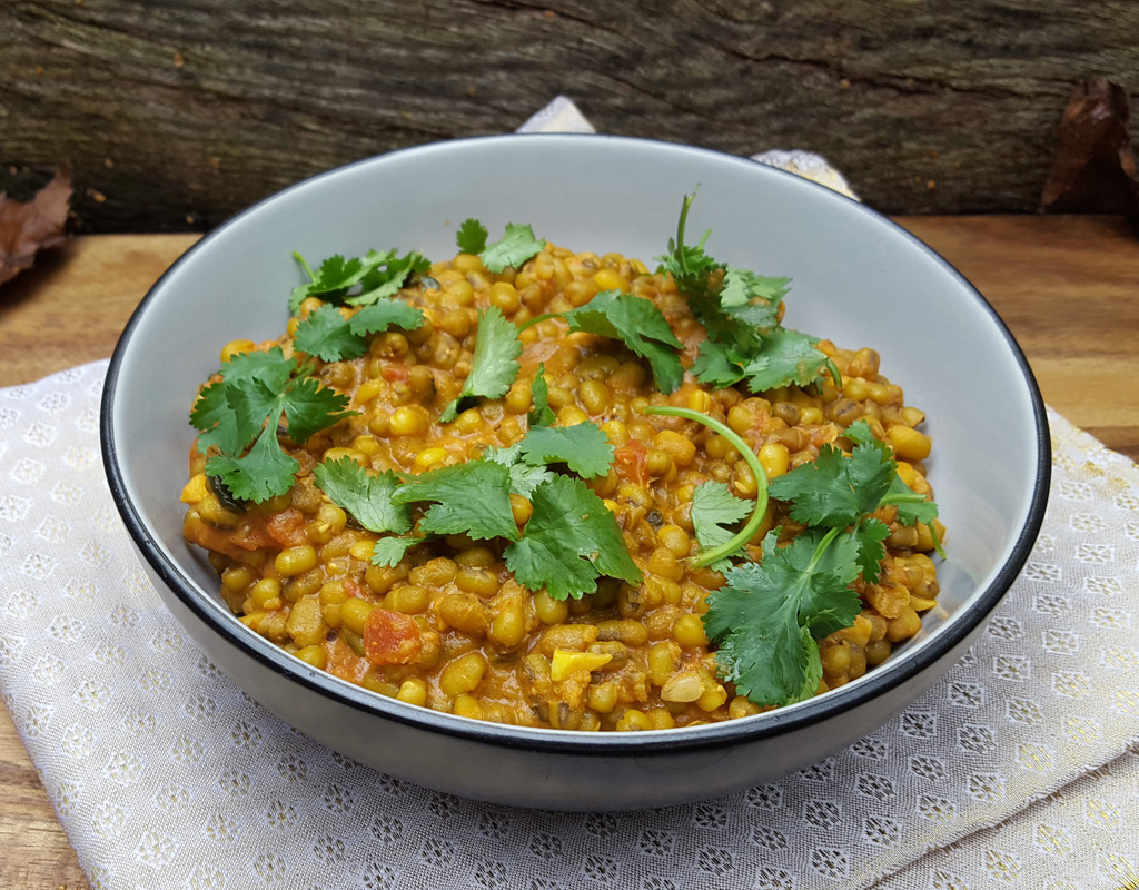 Mung Bean And Coconut Curry Cooktogether