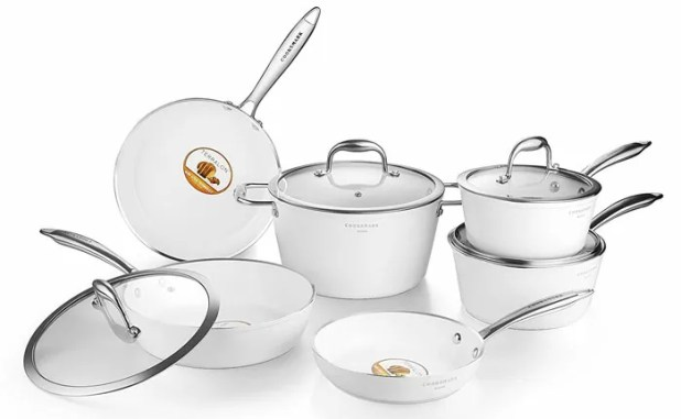 Cooksmark Porcelain Non-stick Cookware