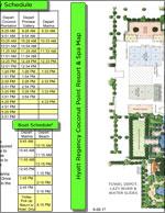 Hyatt Hotel Trolley & Boat Schedule