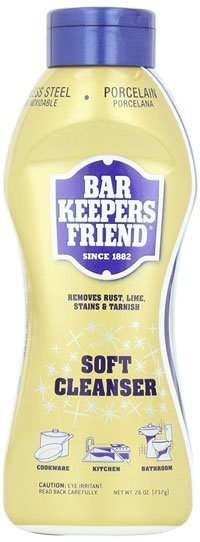 Bar Keeper Friend Soft Cleanser - Best Cleaner for Stainless Steel Cookware