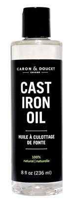Caron & Doucet - Cast Iron Seasoning Oil & Conditioner
