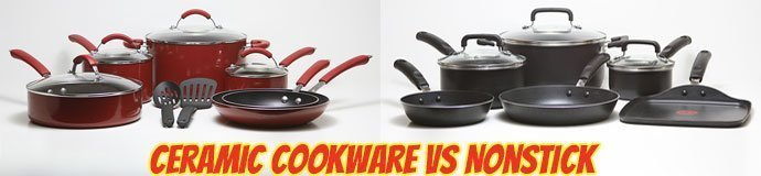 Ceramic Cookware Vs Nonstick Cookware