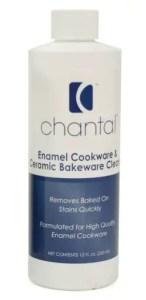 Chantal Enamel, Ceramic Bakeware Cleaner