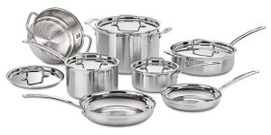Cuisinart MCP-12N Multiclad Pro - Best Dishwasher Safe Cookware