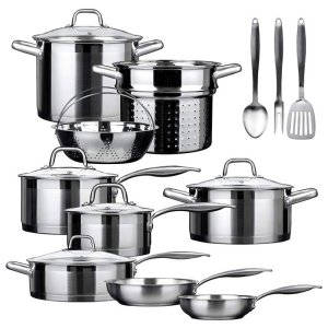 Duxtop SSIB-17 - Best Stainless Steel Cookware Made in USA