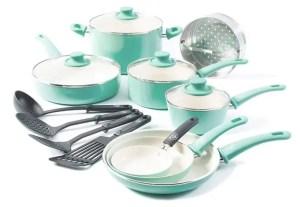 GreenLife Soft Grip Dishwasher Safe Ceramic Cookware