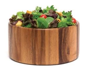 Lipper International 1145 Acacia Straight-Side Serving Bowl