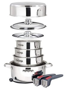 Magma Products- A10-360L-IND - Non Stick Cookware Set