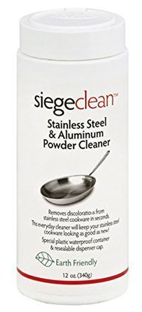 Siege Clean Stainless Steel and Aluminium Powder Cleaner