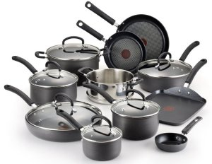 T-fal Hard Anodized Cookware Set - Non Stick Cookware at Low Price