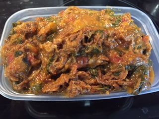 Pork Curry With Spinach..