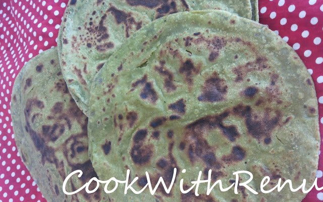 Palak (Spinach) Paratha