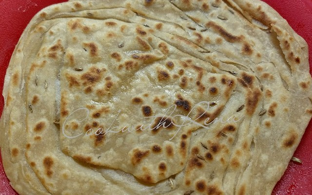 Multi Layered Whole Wheat Paratha