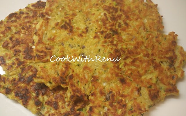 Vegetable and Mix Flour (Bengal Gram,Rice) Pancake