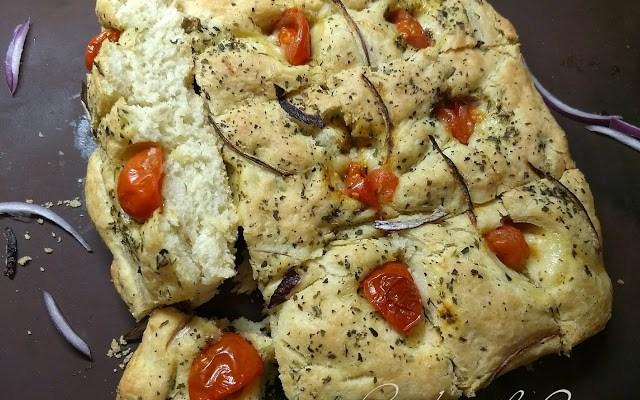 Focaccia Bread #BreadBakers