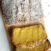 Lemon Cake (No Baking Powder, No Baking Soda)
