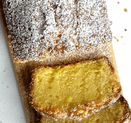 Lemon Cake (No Baking Powder, No Baking Soda)