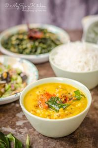 Sri Lankan Dhal Curry Recipe